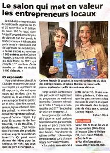Article Salon Le Courrier des Yvelines